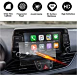 LFOTPP Car Navigation Screen Protector for 2017-2018 Elantra GT Blue Link 7 Inch, Tempered Glass Infotainment Center Touch Screen Protector Anti Scratch High Clarity LiFan 2017-2018 Hyundai Elantra GT 7 inch 9H