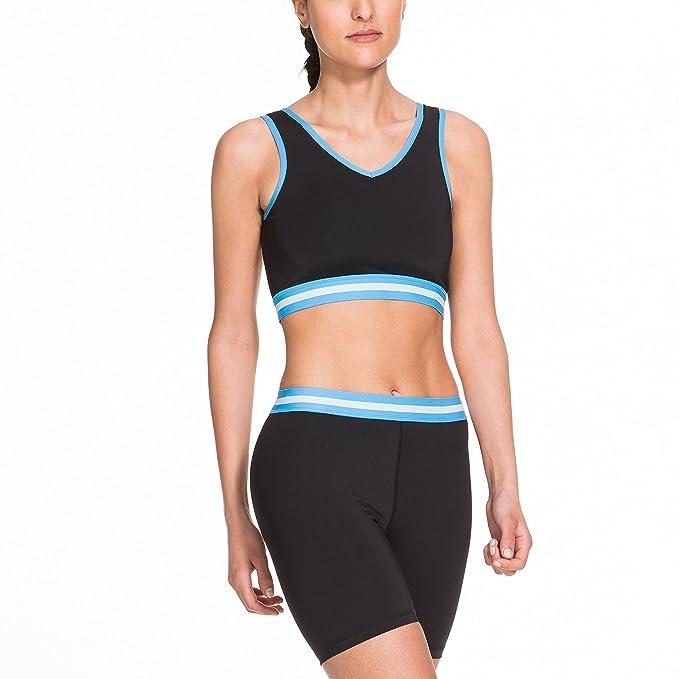 Gregster Syp Pantalones Cortos-Yoga, Mujer: Amazon.es: Ropa ...