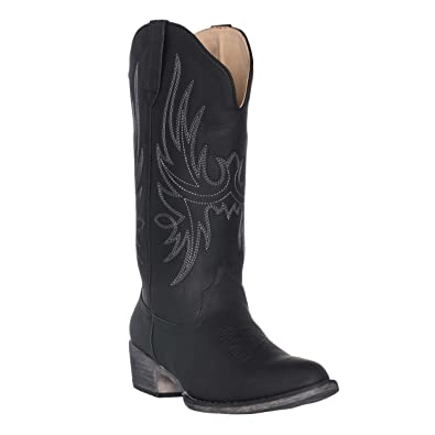 24bee058c1a8d Womens Western Cowgirl Cowboy Boot, Dallas Pointed Toe by Silver Canyon