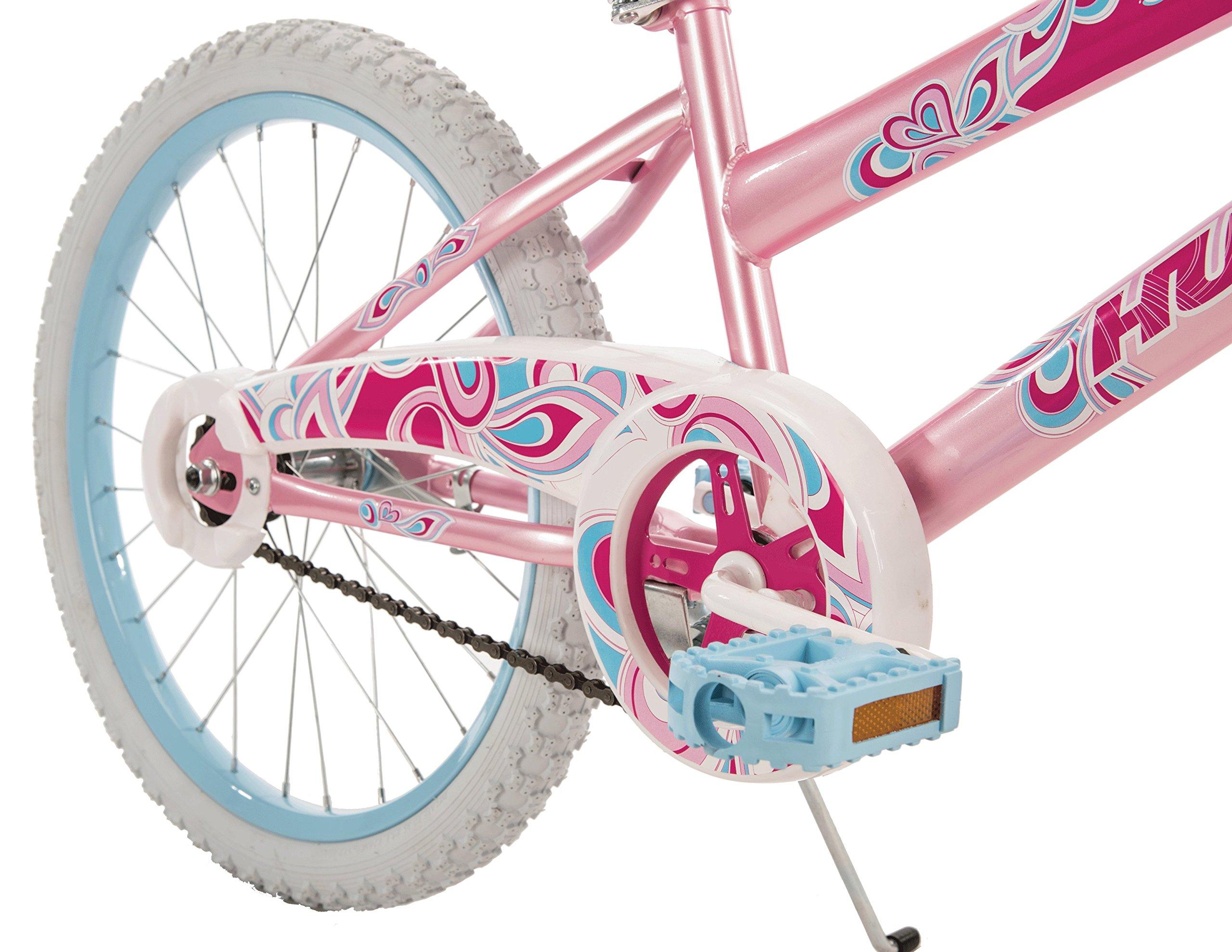 Huffy Bicycle Company So Sweet Single-Speed Girls' Bike, Bubblegum Pink, 20''