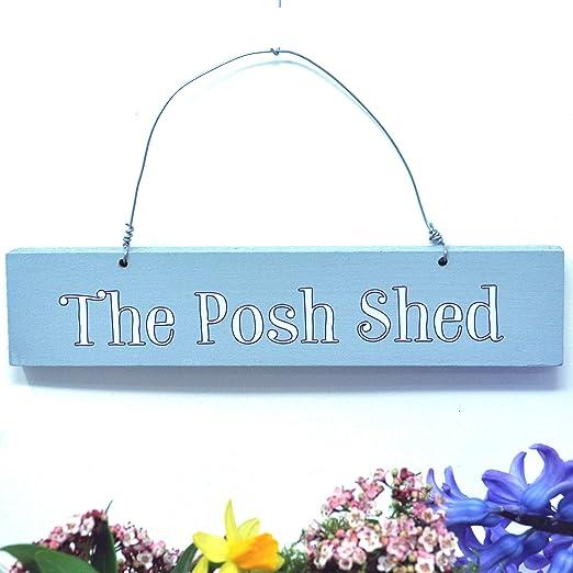 Angelic Hen Posh - Cartel para Colgar en el Exterior: Amazon ...