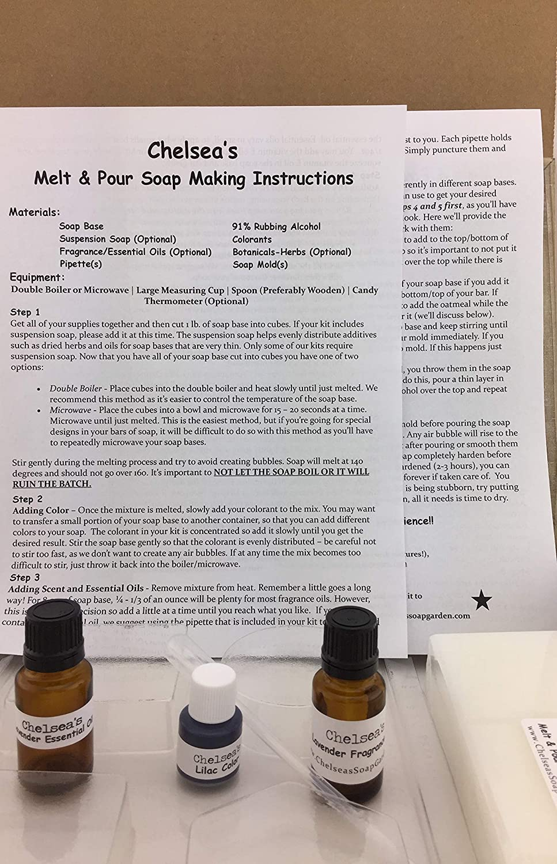 Chelseas Organic Goat Milk and Oatmeal CP Soap Making Kit 3 Lbs