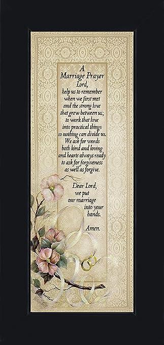 Amazon.com - Marriage Prayer, Christian Marriage Gift, Frame Wedding ...