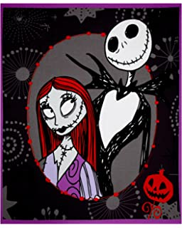 Amazon springs creative products group disney nightmare disney nightmare before christmas 35in panel multi fabric by the yard voltagebd Image collections