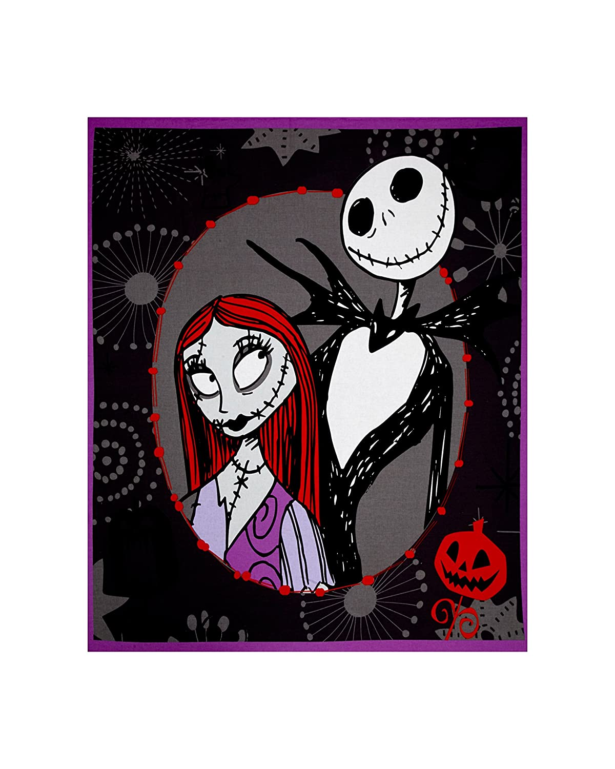 Disney Nightmare Before Christmas 35in Panel Multi Fabric By The Yard 4336918066