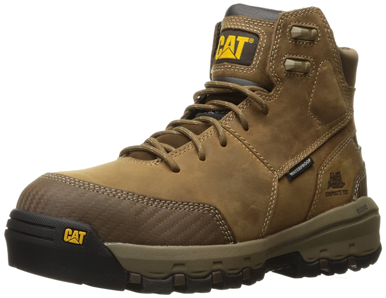 c101d33eb30 Amazon.com: Caterpillar Men's Device Comp Toe Waterproof / Black ...