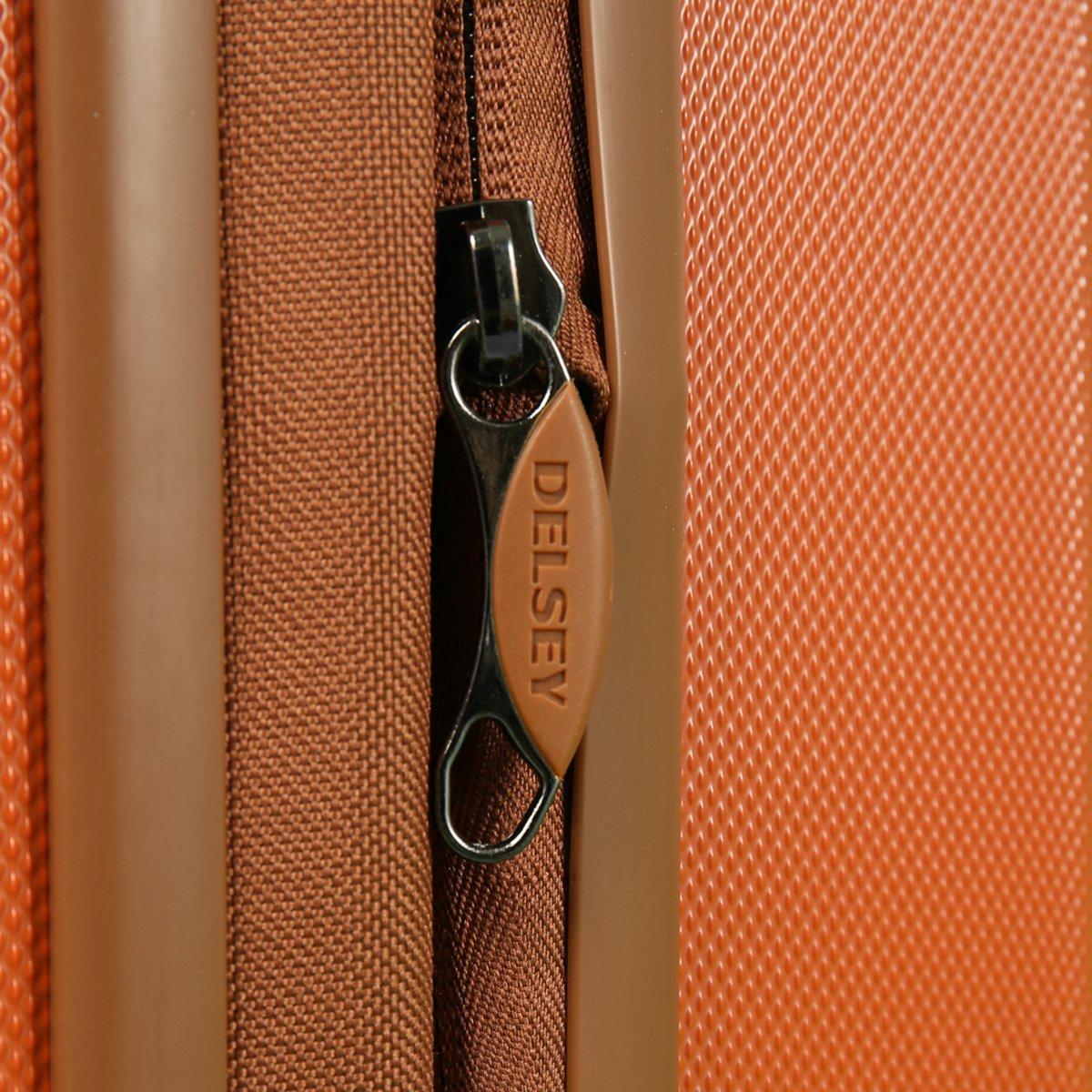 a560151e87 Amazon.co.jp: デルセー スーツケース DELSEY PROMENADE プロムナード デルセー スーツケース キャリーケース Sサイズ  57.5cm ビジネス 出張 (オレンジ25): ホーム& ...