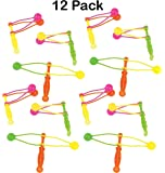 Clackers 3.75 Inches - Pack Of 12 – Assorted Neon Colors Fun Classic Noise Makers - For Kids Great Party Favors, Bag Stuffers, Fun, Toy, Gift, Prize ,Piñata Fillers - By Kidsco