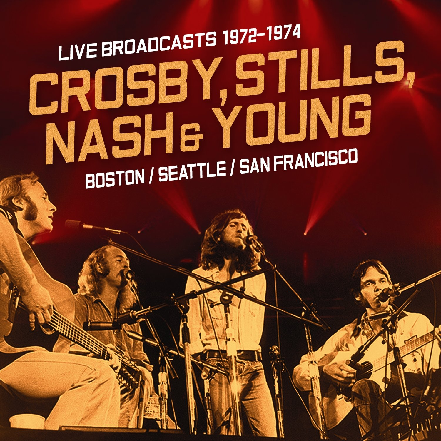 Live Broadcasts 1972-1976 by Video Music, Inc. (Image #1)