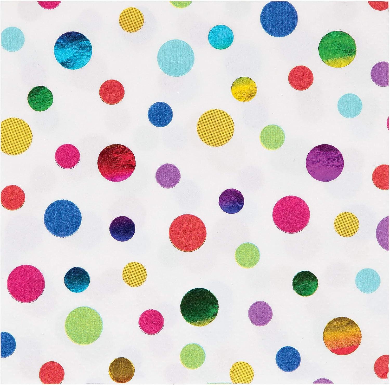 Unbekannt 335533 Rainbow Foil Serviettes