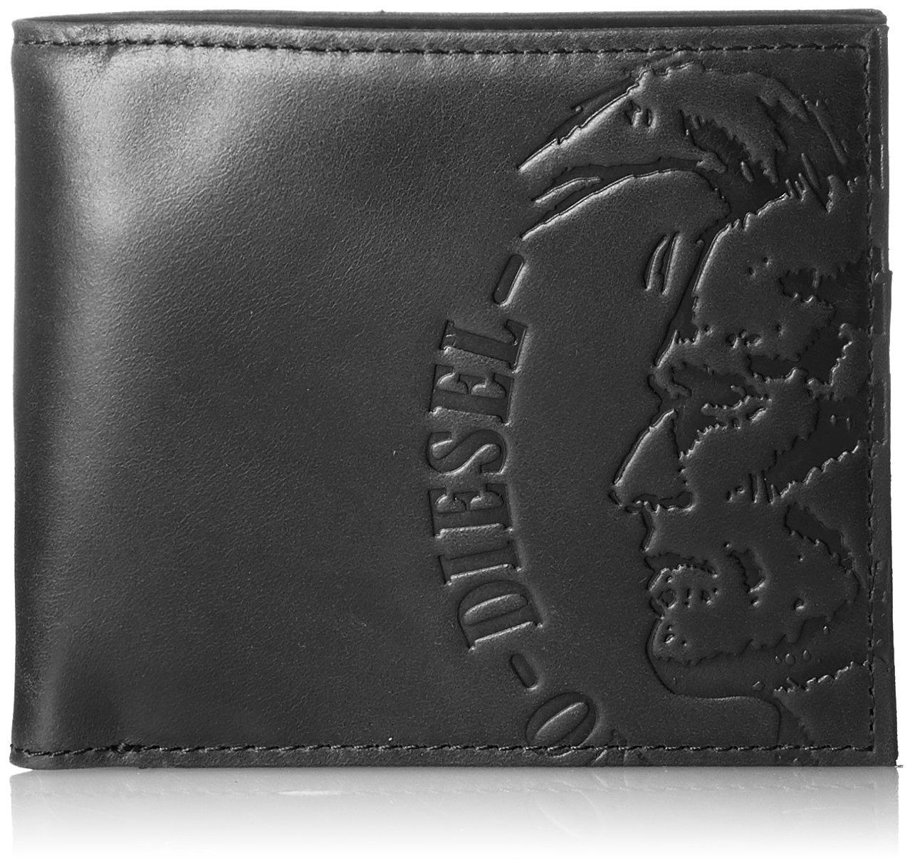 (ディーゼル) DIESEL HIGH PROFILEE HIRESH S - wallet X04763PR160 B0772QBGLX UNI (Free)|ブラック ブラック UNI (Free)