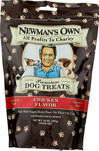 Newman s Own Organic Dog Treats, for Medium Size Dogs, Chicken, 10 oz