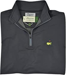 d0ff5908 PETER MILLAR 2018 Masters Men's Anthracite Performance Quarter Zip Pullover  Jacket