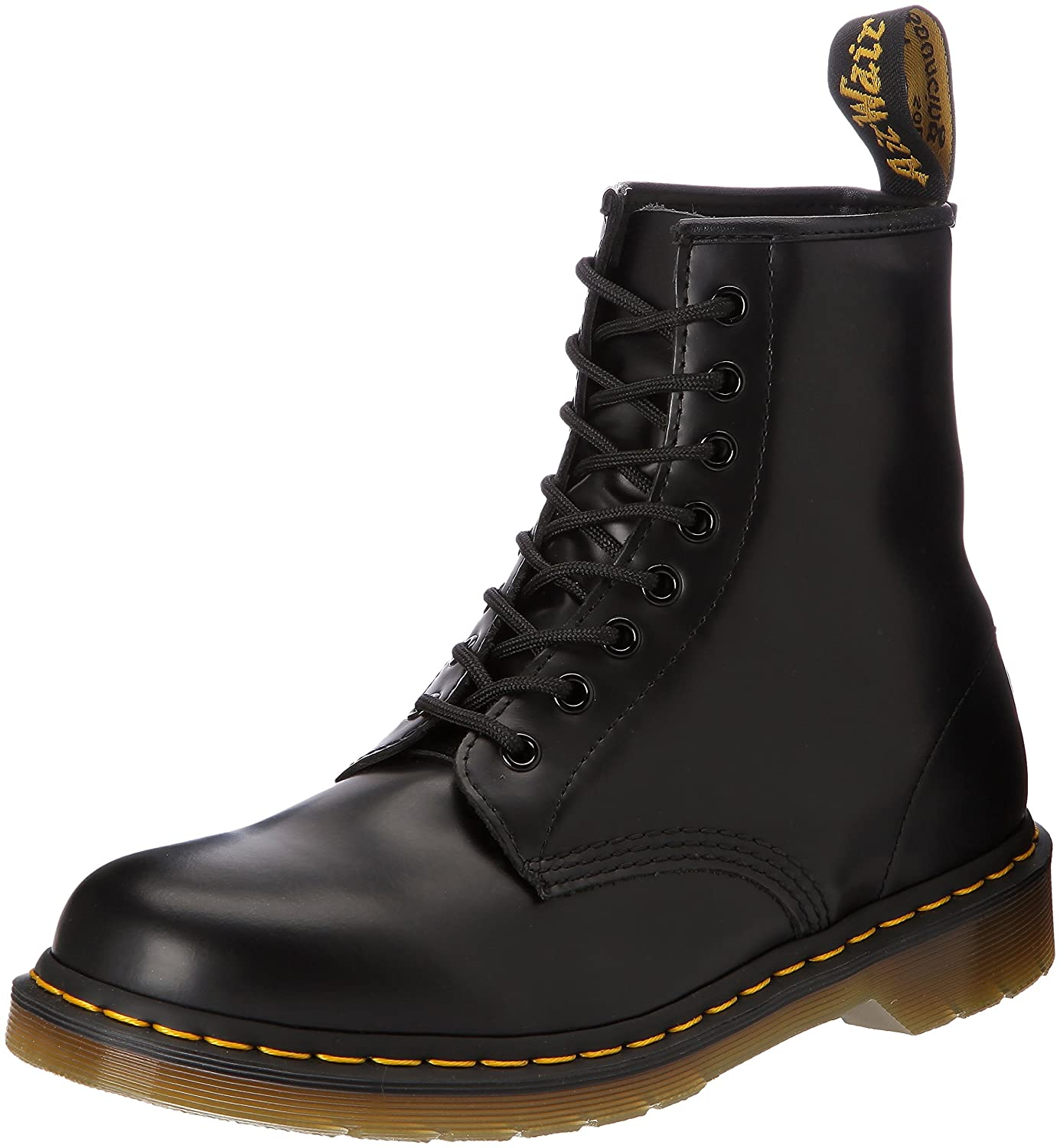 Dr. Martens 1460 Originals Eight-Eye Lace-Up Boot B0007PKL5C 12 UK (US Men's 13 M)|Black Smooth Leather
