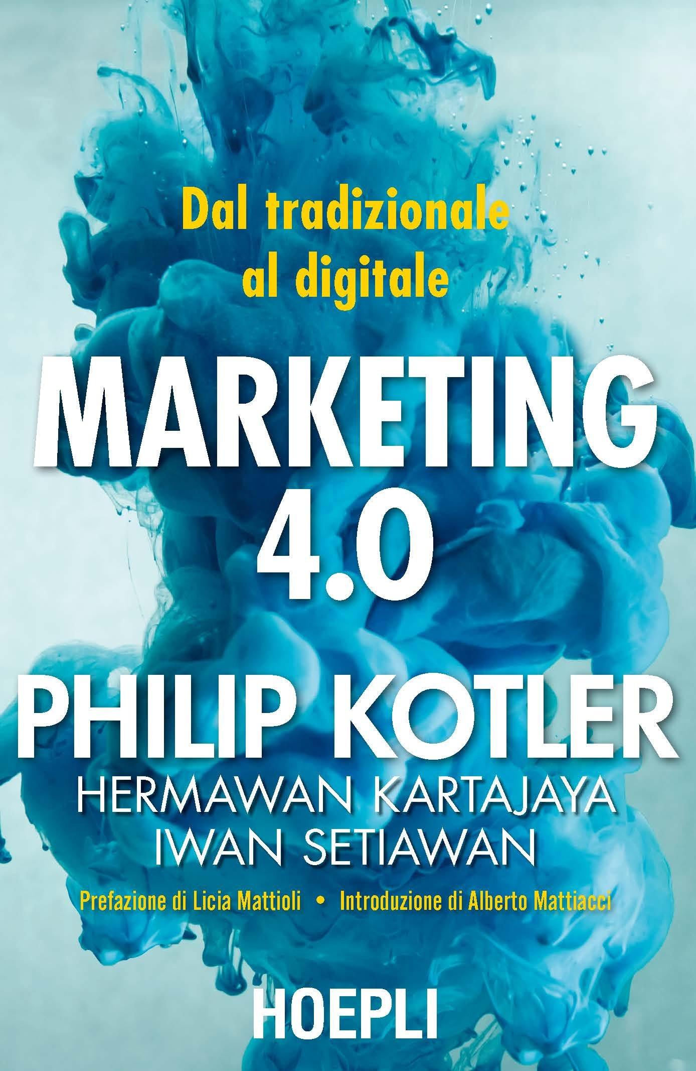 Copertina Libro Marketing 4.0.