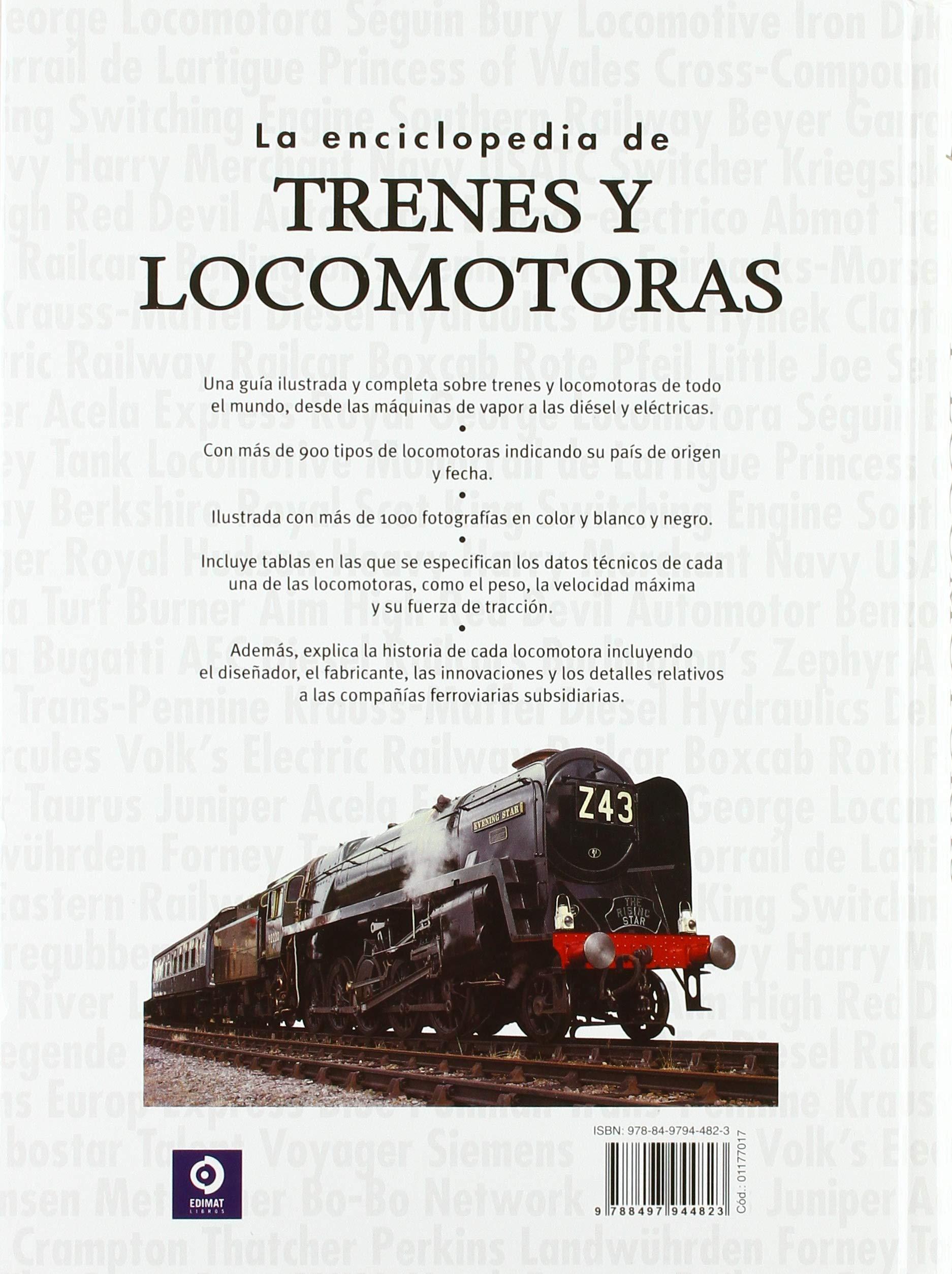 La enciclopedia de trenes y locomotoras: 003 Enciclopedia básica ...