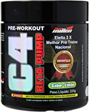 C4 Beta Pump Extreme Pre-Workout, New Millen, Limão, 225g