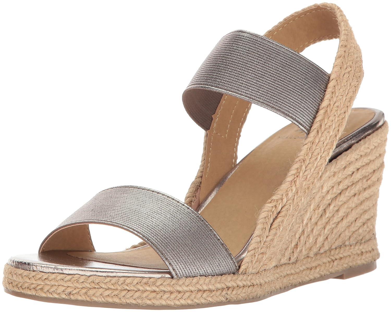 Yellow Box Women's Cathia Wedge Sandal B01MTW8UGI 10 B(M) US|Gunmetal