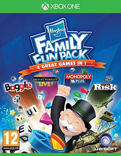 Hasbro Family Fun Pack [Importación Inglesa]: Amazon.es: Videojuegos
