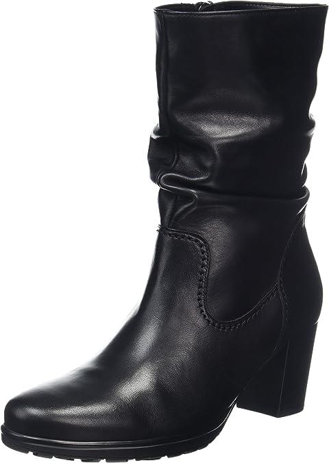 Gabor Damen Basic Stiefel, Schwarz