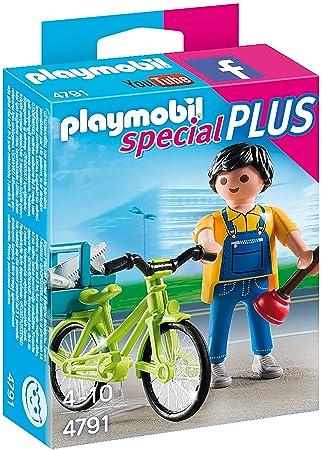 Playmobil PLAYMOBIL Maricela mit Fahrrad
