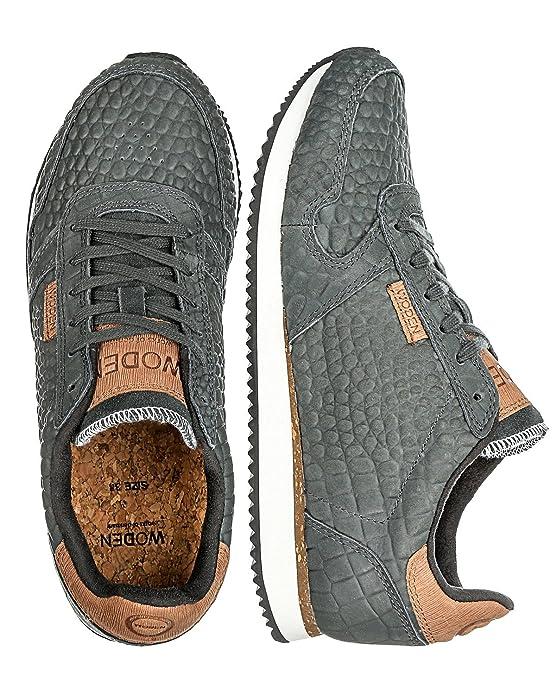 Woden E Eu Gris Sneakers Foncé39 'ydun Ac43Rjq5L
