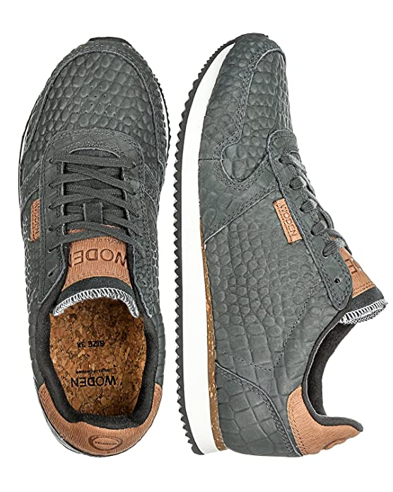 Sneakers Gris Eu E 'ydun Foncé39 Woden D9WIH2E