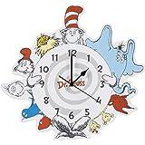 Dr. Seuss Friends Wall Clock