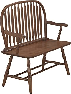 product image for Carolina Chair and Table Windsor Bench Elm
