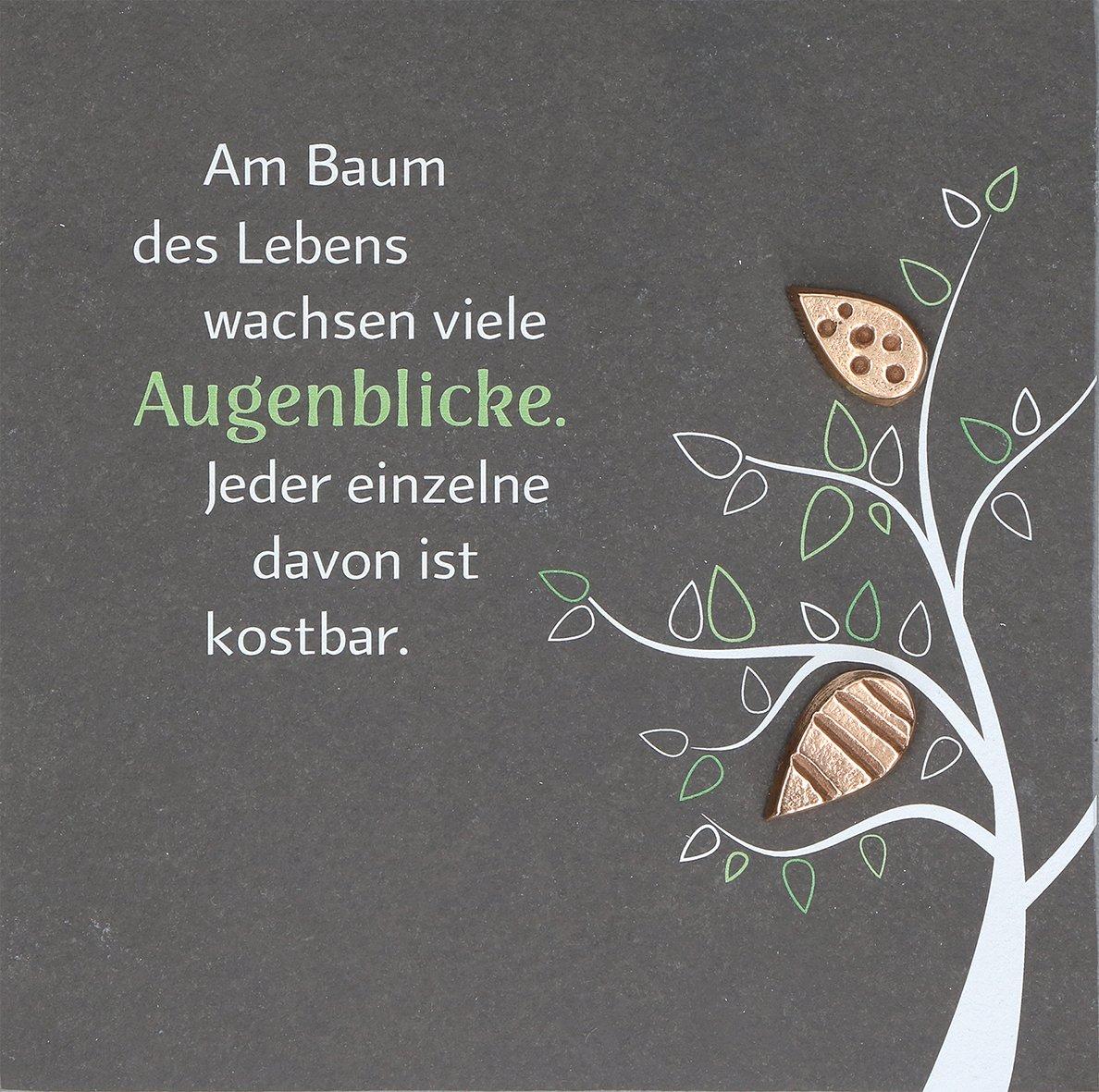 Butzon & Bercker 2-154032 Schieferrelief Baum des Lebens: Amazon.de ...