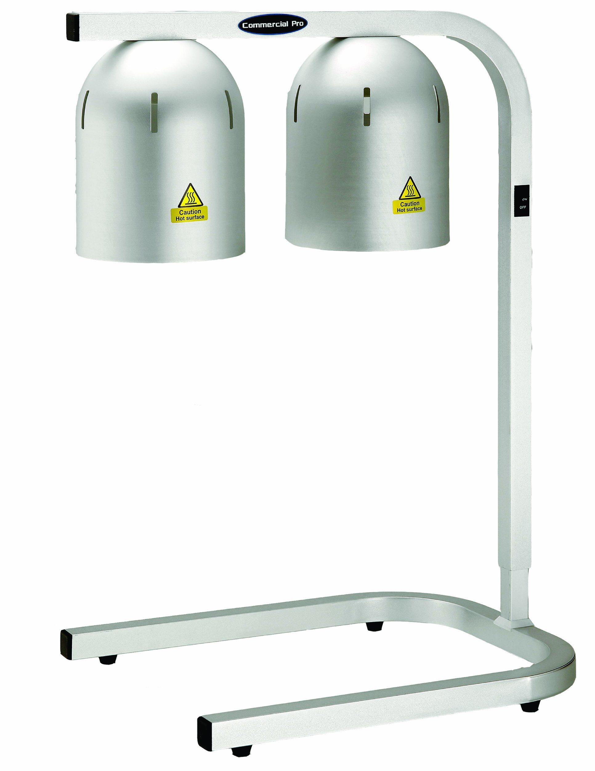 Commercial Pro CPHL-500 2-Light Warming Lamp