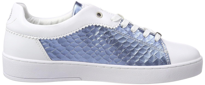 Bugatti Damen (Weiß 421291025059 Sneaker Weiß (Weiß Damen / Blau 2040) 04b6a9