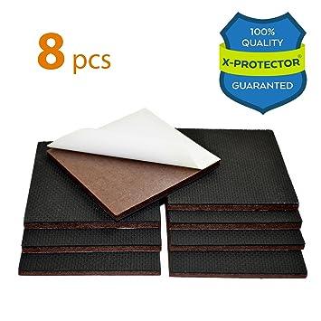 NON SLIP FURNITURE PADS X PROTECTOR PREMIUM 8 Pcs 4u201d Furniture Pad! Best