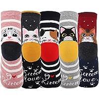 Jeasona Womens Socks for Women Cotton Cute Funny Animal Christmas Gifts for Women