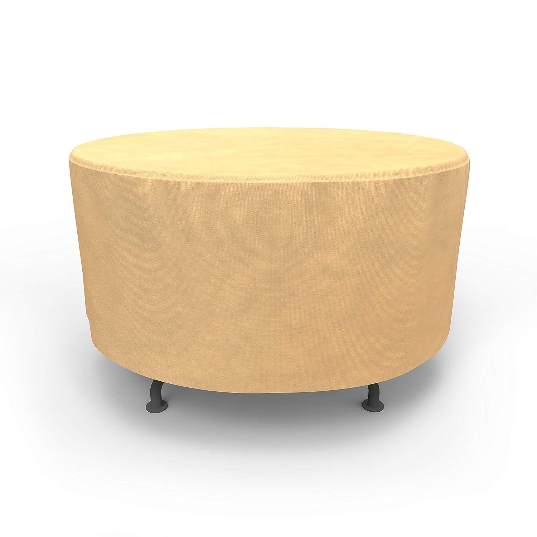 Medium EmpirePatio Classic Nutmeg Round Patio Table Cover