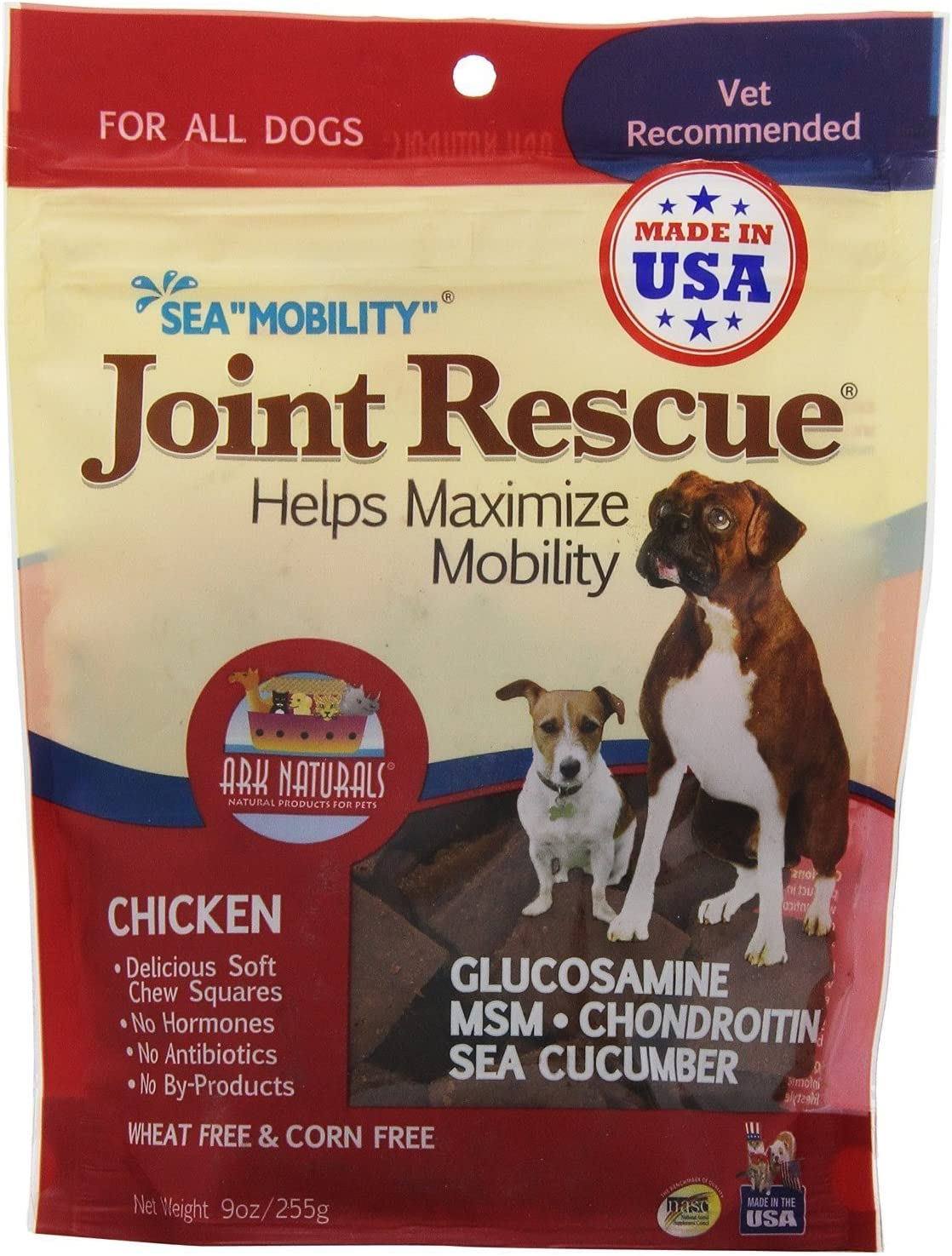 Ark Naturals Sea Mobility – Chicken Jerky 9 Ounce Bag 2 Bags by Sea Mobility