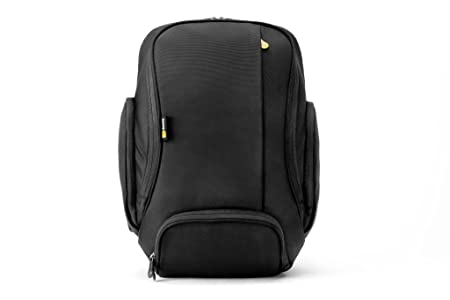 Booq Boa Flow Graphite Laptop Computer Backpack with DLSR Storage Compartment (Black) Laptop Backpacks at amazon