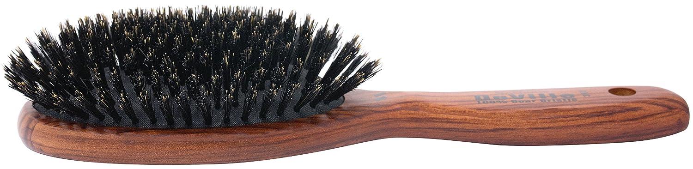 SPORNETTE Deville internacional 100% de cerdas de jabalí - Cepillo acolchado ovalado: Amazon.es: Belleza