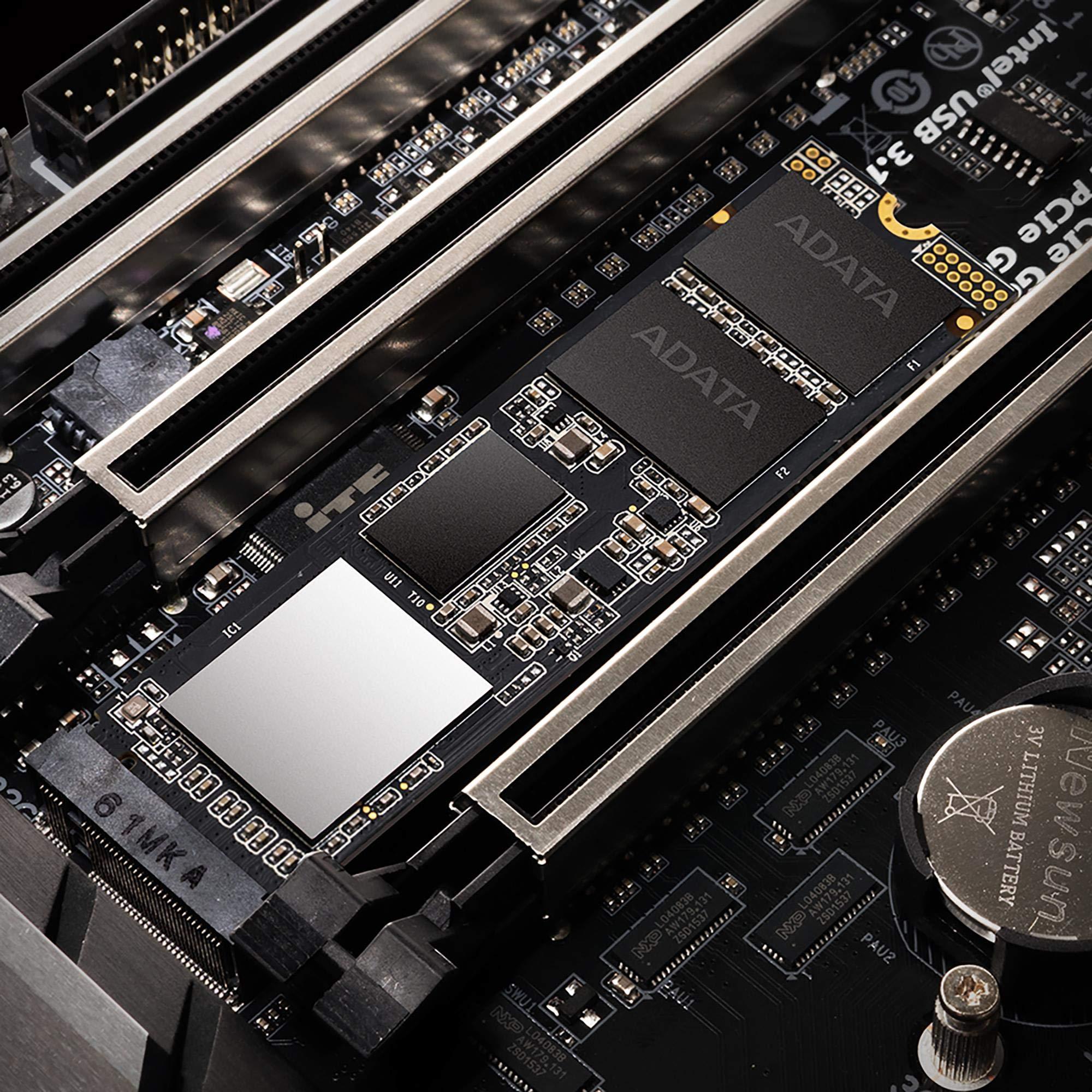 ADATA XPG SX8200 Pro 1TB 3D NAND NVMe Gen3x4 PCIe M.2 2280 Solid State Drive R/W 3500/3000MB/s SSD (ASX8200PNP-1TT-C) by XPG (Image #6)