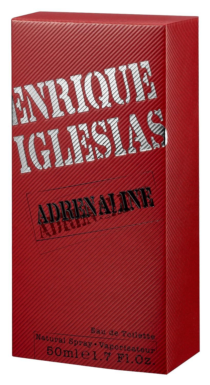 Enrique Iglesias Adrenaline Eau de Toilette para Hombre - 50 ml.: Amazon.es: Belleza