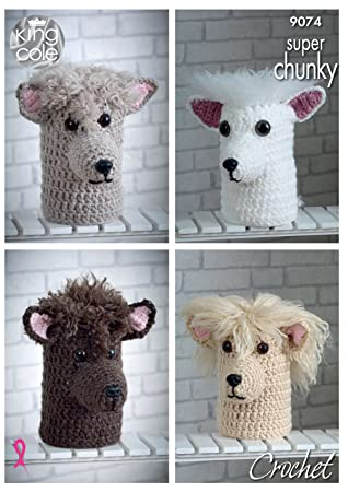 Amazon King Cole Super Chunky Crochet Pattern Andre The