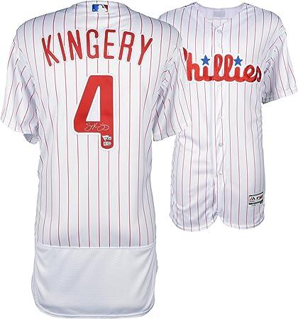 the latest acdf4 6951f Scott Kingery Philadelphia Phillies Autographed Majestic ...