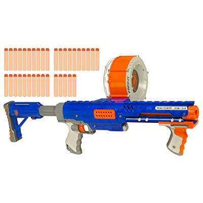 NERF N-Strike Raider Rapid Fire CS-35 Dart Blaster: Toys & Games