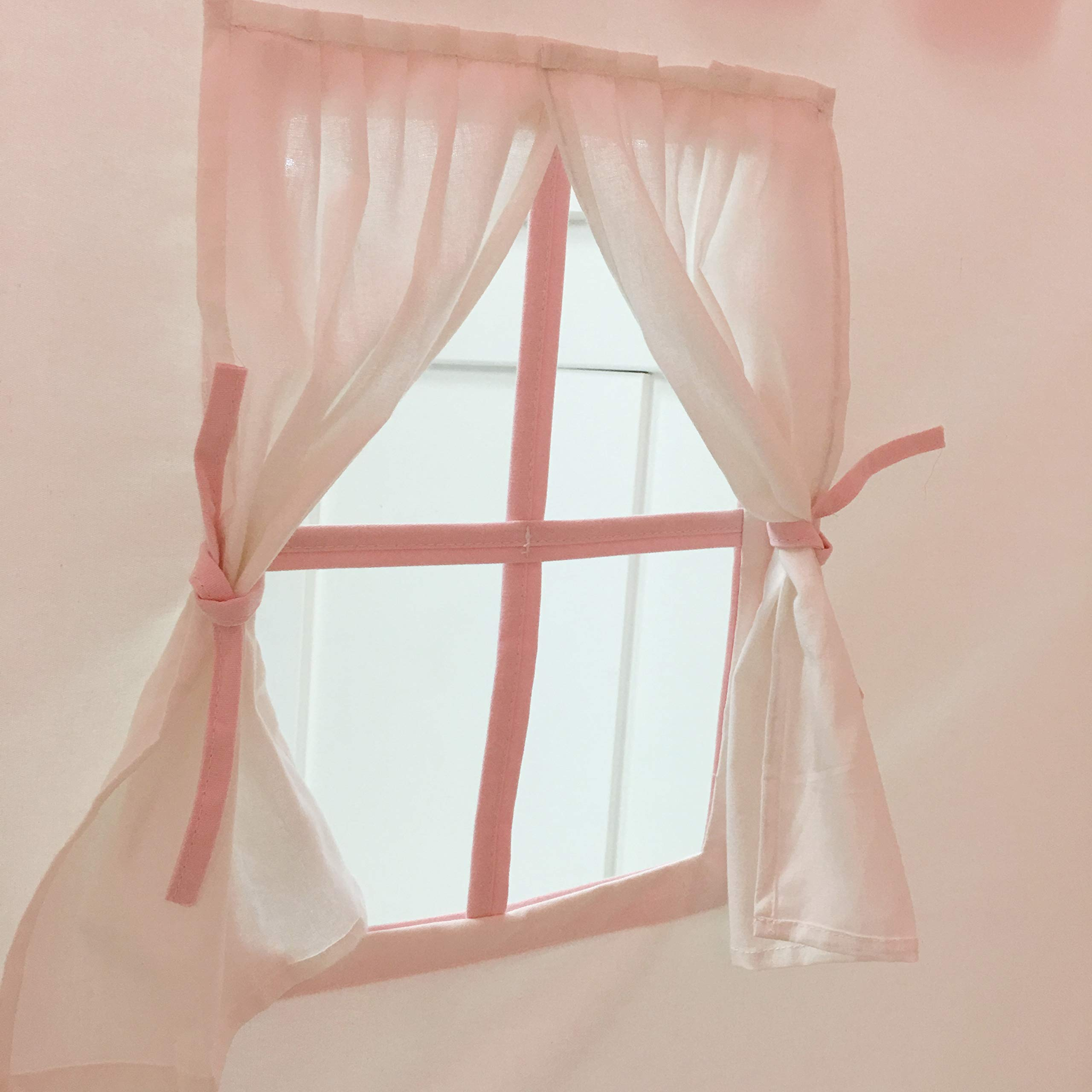 Domestic Objects Children's Playhouse. Handmade with 100% Cotton Premium Quality. Pink by Domestic Objects (Image #2)