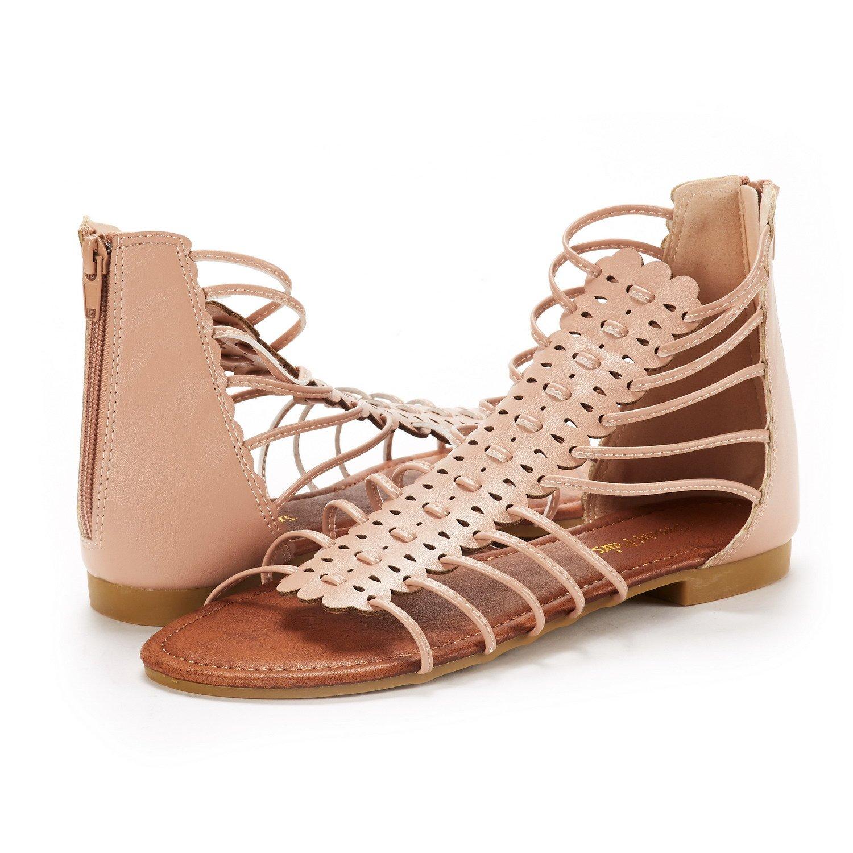 Women's Pairs Fashion Flat Dream Roman Gladiator Sandals 4RjLA3c5q