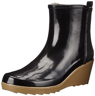 Amazon.com | Chooka Women&39s Side Gore Wedge Ankle Rain Boot | Rain