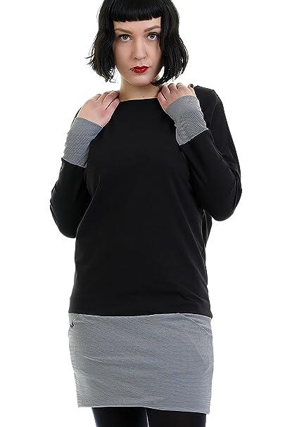 online store 5428e 6ef48 3Elfen Abito Donna con Tasca e Pipistrello Maniche, Vestito di Donna  Invernali con Minigonna de