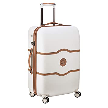 DELSEY Paris Chatelet Air Maleta, 69 cm, 72 Liters, Blanco (Angora): Amazon.es: Equipaje