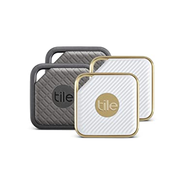 Tile Combo Pack - Key Finder. Phone Finder. Anything Finder (2 Tile Sport and 2 Tile Style) - 4 Pack
