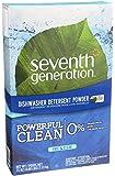 Seventh Generation Free and Clear Dishwasher Detergent Powder 75 oz